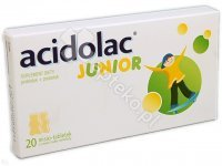 ACIDOLAC JUNIOR 20tabl. TABL. 20 TAB
