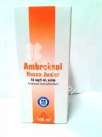 Ambroksol Hasco Junior syrop 0,015g/5ml 1b