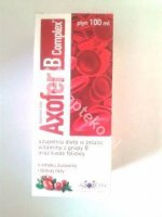 Axofer B Complex płyn 100ml  D