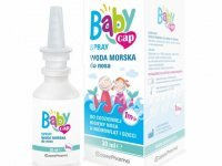 BABYCAP SPRAY Woda morska do nosa 1m+ spra