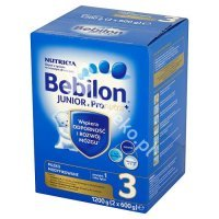 Bebilon Junior 3 z Pronutra+, prosz.,1200 g