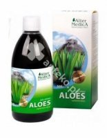 Aloes, 100%,(99,7%), sok z aloesu, 500 ml