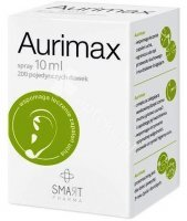 Aurimax, spray, do uszu, 10 ml