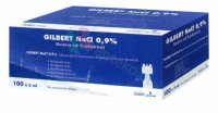 Gilbert NaCl 0,9% 100 poj.a 5ml