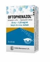 Oftophenazol, (5 mg+0,25 mg)/ml, krople do oczu, 2x5 ml