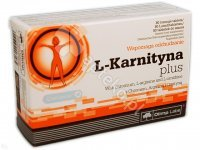Olimp L-Karnityna Plus tabl. 0,3g 80tabl.