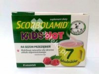 Scorbolamid KIDS Hot 3 g 8 sasz.